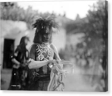 Hopi Snake Priest, C1906 Canvas Print