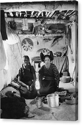Hopi Women, 1901 Canvas Print