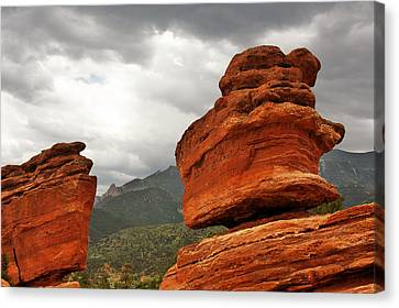 Hoping For Rain - Garden Of The Gods Colorado Canvas Print by Christine Till