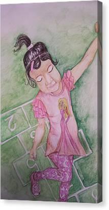 Canvas Print - Hopscotch by Cherie Sexsmith