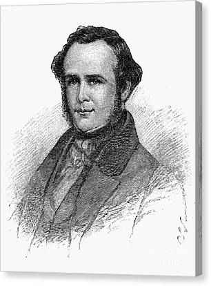 Horace Wells (1815-1848) Canvas Print by Granger