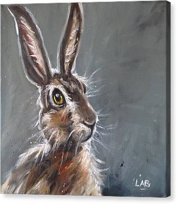 March Hare Canvas Print - Horatio Hare by Louise  Brown