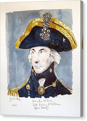 Horatio Nelson Canvas Print by Ray Johnstone