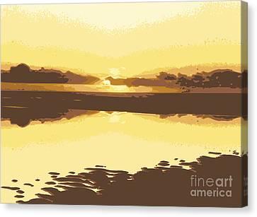 Horizon 2 Canvas Print by David Hargreaves
