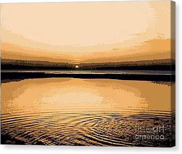 Horizon 3 Canvas Print by David Hargreaves