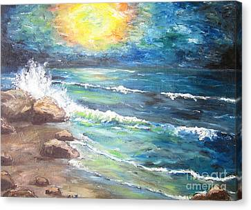 Horizons Canvas Print by Cheryl Pettigrew