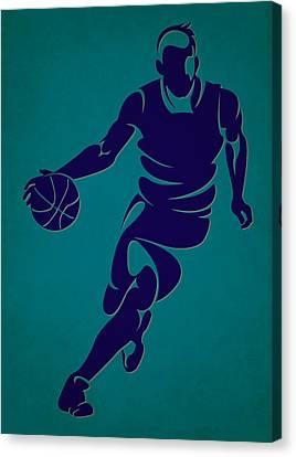 Hornets Basketball Player3 Canvas Print by Joe Hamilton