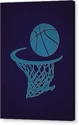 Hornets Team Hoop2 Canvas Print by Joe Hamilton
