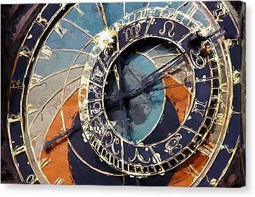Horologium  Canvas Print by Steve K