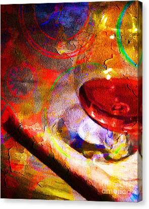 Hors D Age Cognac And Stogie Canvas Print