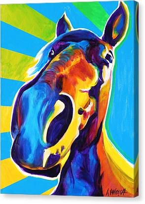 Horse - Chipper Canvas Print by Alicia VanNoy Call