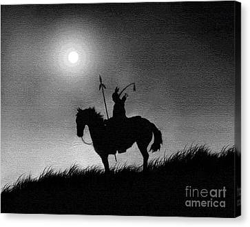 Horse Brave Canvas Print by Robert Foster