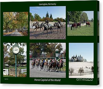 Horse Capital Of The World Canvas Print by Roger Potts