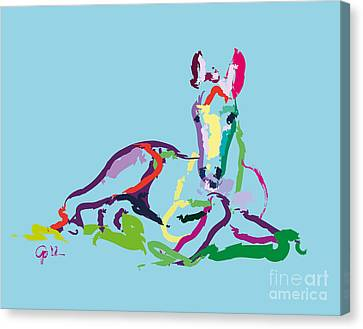 Horse - Foal - Sweetie Canvas Print