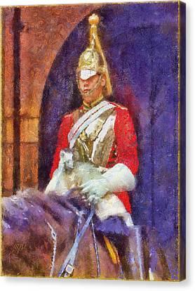 Horse Guard No.1 Canvas Print