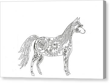 Horse  Canvas Print by Heather  Stirnweis