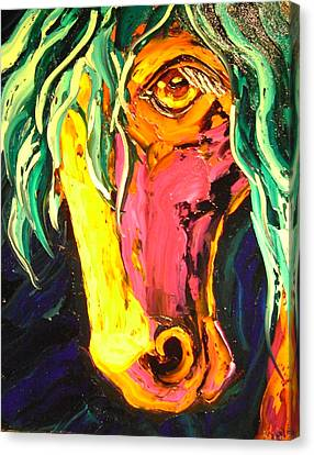 Horse Canvas Print by Isabelle Gervais