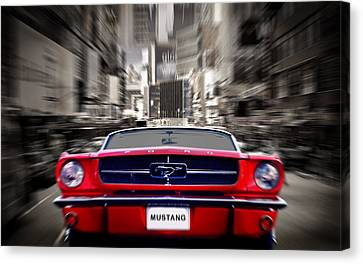 Horse Power Canvas Print by Mark Rogan