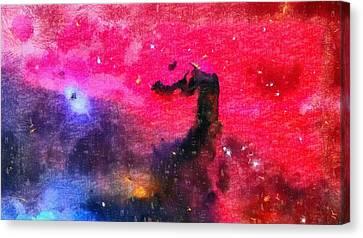 Horsehead Nebula Canvas Print by Dan Sproul