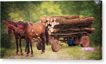 Horsepower Canvas Print by Jeff Kolker