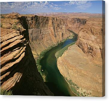 Openair Canvas Print - Horseshoe Bend Of Colorado River, Page by Tips Images