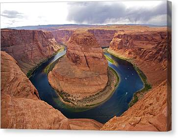 Horseshoe Bend View 1 Canvas Print