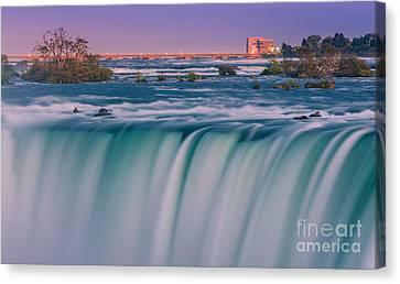 Horseshoe Falls Is A Part Of The Niagara Falls Canvas Print