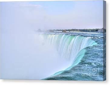 Horseshoe Falls Canvas Print by Kathleen Struckle