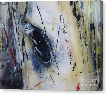 Horsing Around Canvas Print by Lucy Matta