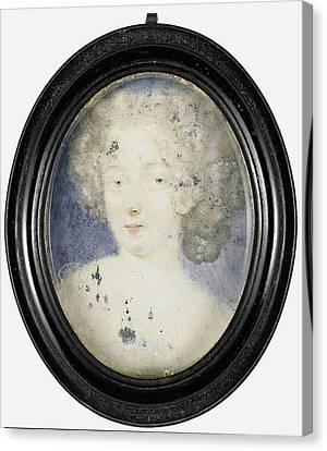 Hortense Mancini, 1639-1715, Duchess Of Mazarin Canvas Print by Litz Collection