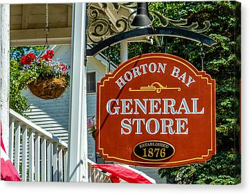 Horton Bay General Store Canvas Print by Bill Gallagher