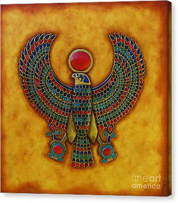 Horus Canvas Print by Joseph Sonday
