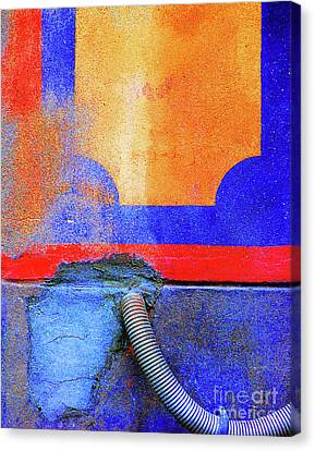 Canvas Print featuring the photograph Hosed by Newel Hunter