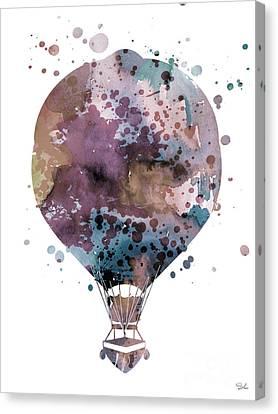 Hot Air Balloon 2 Canvas Print by Luke and Slavi
