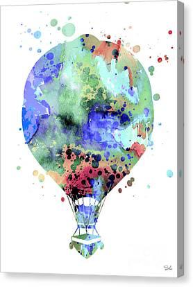 Hot Air Balloon  3 Canvas Print by Luke and Slavi