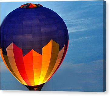 Hot Air Balloon Canvas Print by Diane Lent