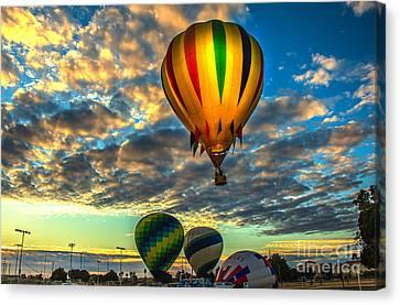 Arizonia Canvas Print - Hot Air Balloon Lift Off by Robert Bales