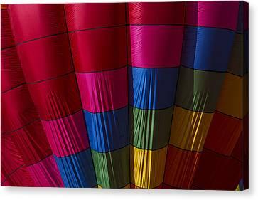 Hot Air Balloon Pattern Canvas Print by Garry Gay