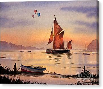 Hot Air Ballooning Canvas Print by Bill Holkham