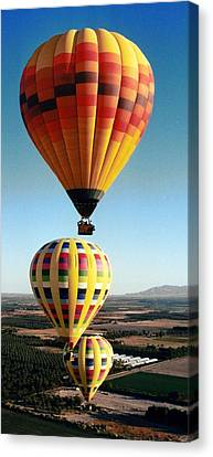 Balloon Stacking Canvas Print by Richard Engelbrecht