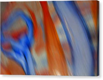 Hot And Cold Mixing Canvas Print by Greg Kluempers