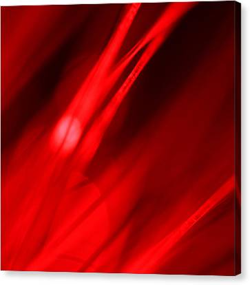 Hot Blooded Series Part 3 Canvas Print by Dazzle Zazz
