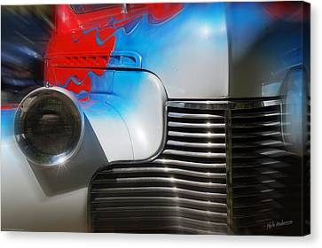 Hot Chevy Canvas Print by Mick Anderson