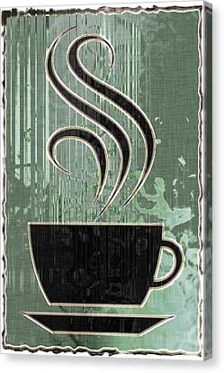 Hot Coffee Canvas Print by David G Paul