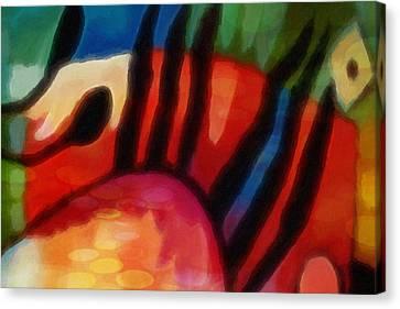 Hot Formation Canvas Print by Lutz Baar