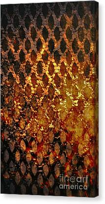 Canvas Print featuring the digital art Hot Grill by Darla Wood