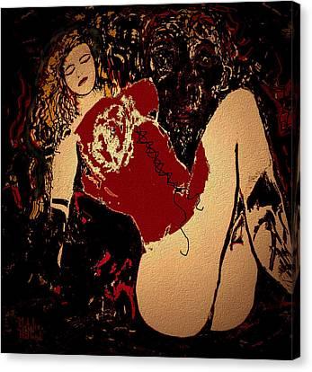Hot Legs Canvas Print