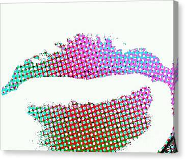 Hot Lips Bb Canvas Print by James Eye