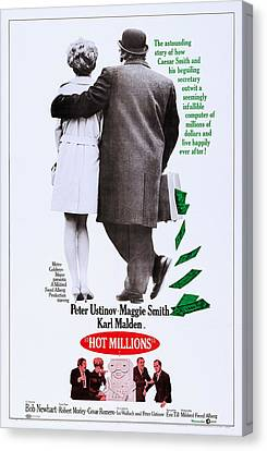 Hot Millions, Us Poster, Top From Left Canvas Print by Everett