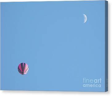 Hot Moon Canvas Print